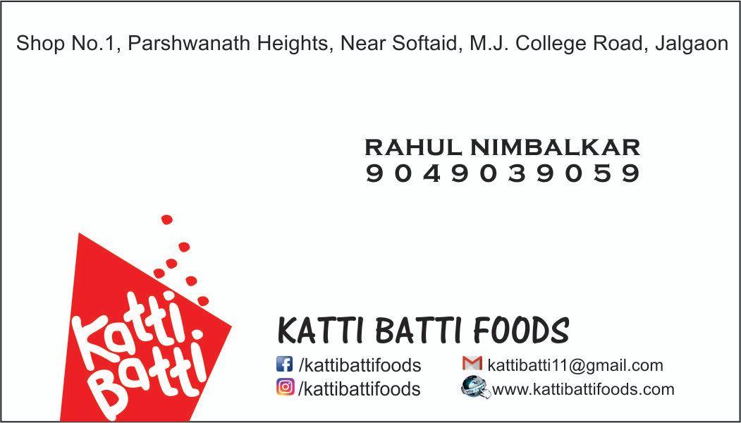 Katti Batti Foods
