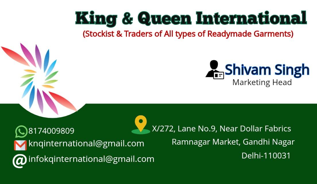 KING & QUEEN INTERNATIONAL