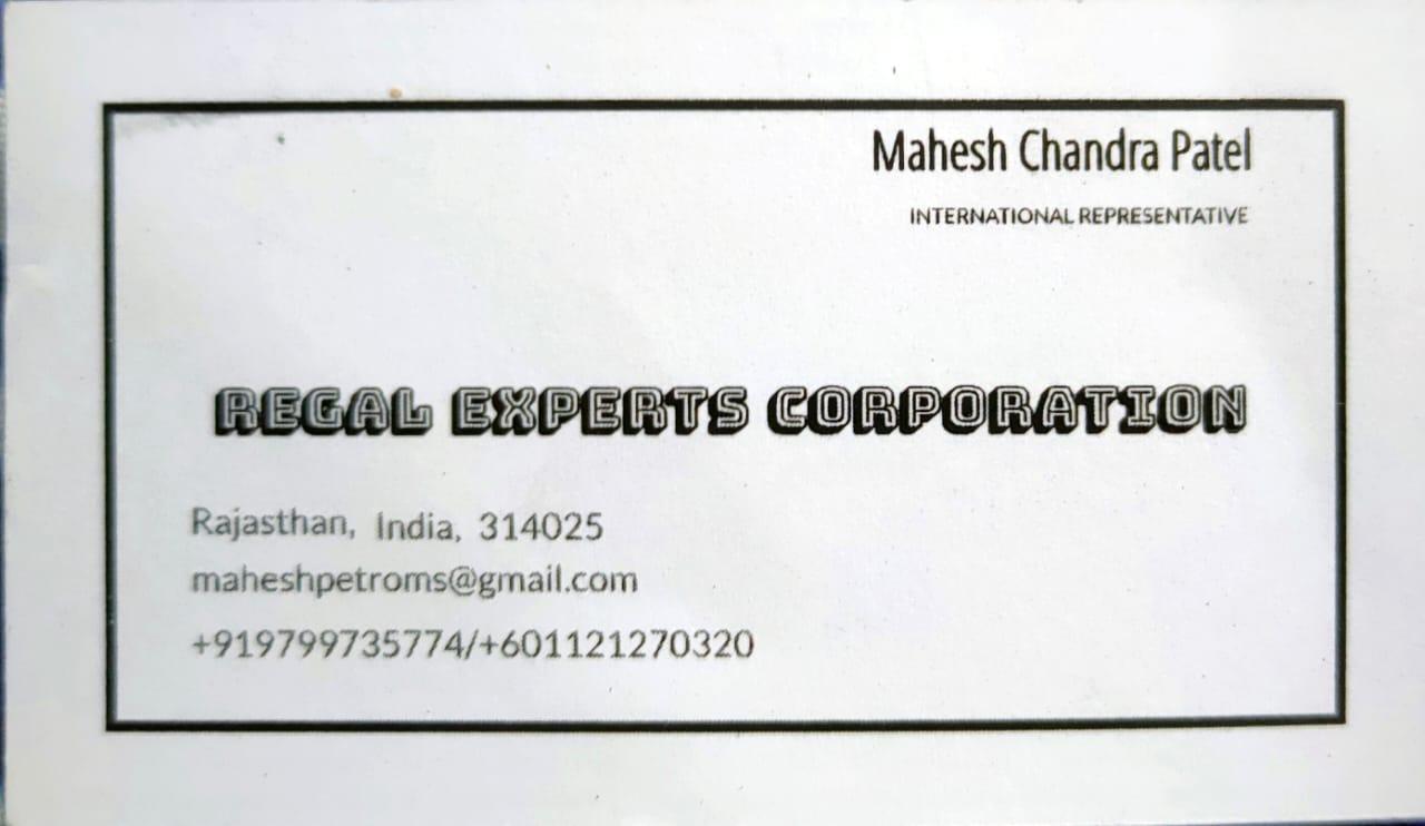 REGAL EXPERTS CORPORATION