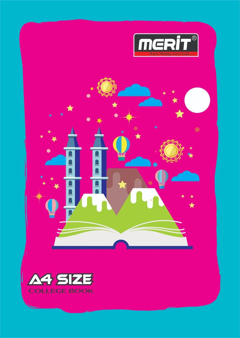 A4 Size college book
