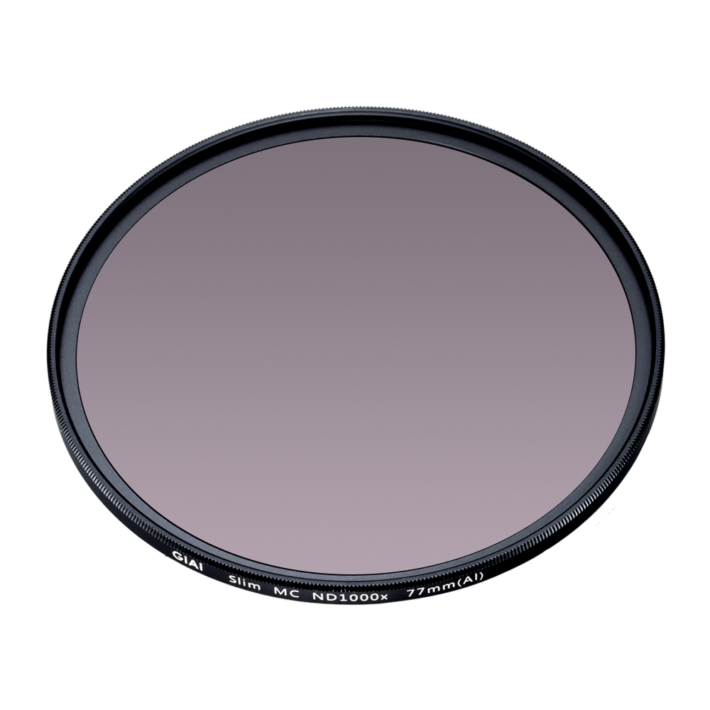 GiAi Slim 67mm 77mm 82mm Camera ND filter ND1000 Camera filter ND 10 stop