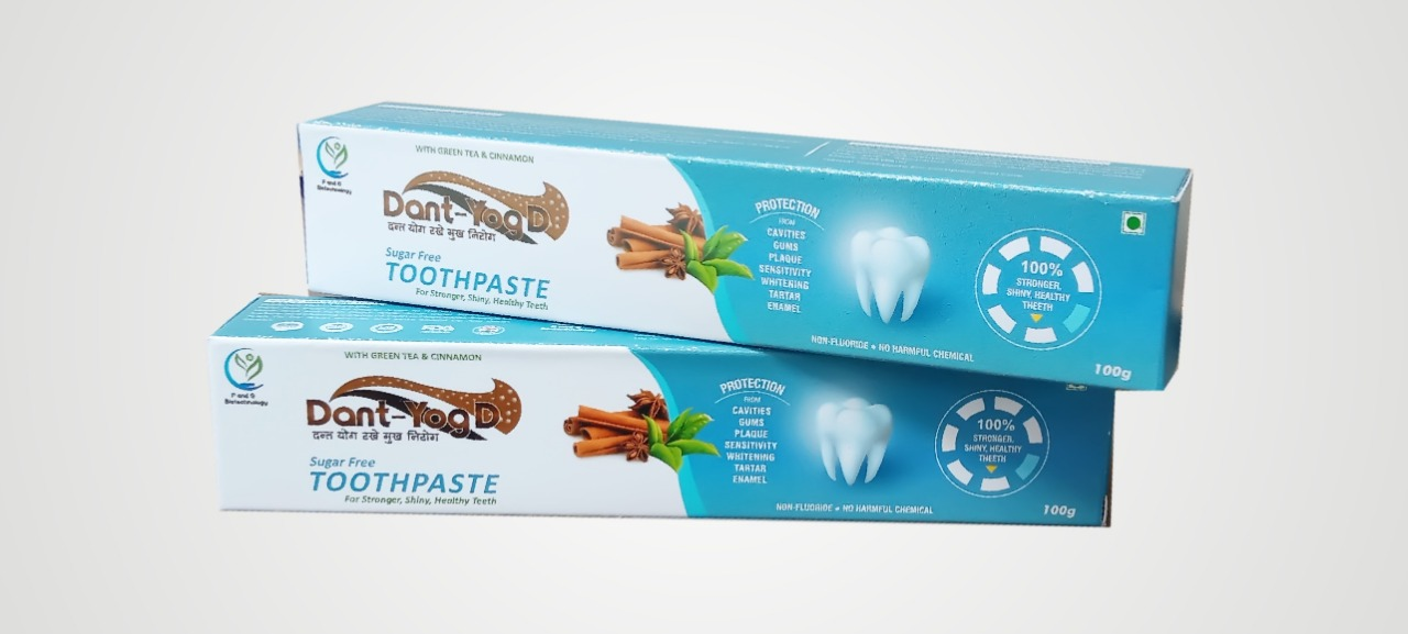 dant yogD toothpaste