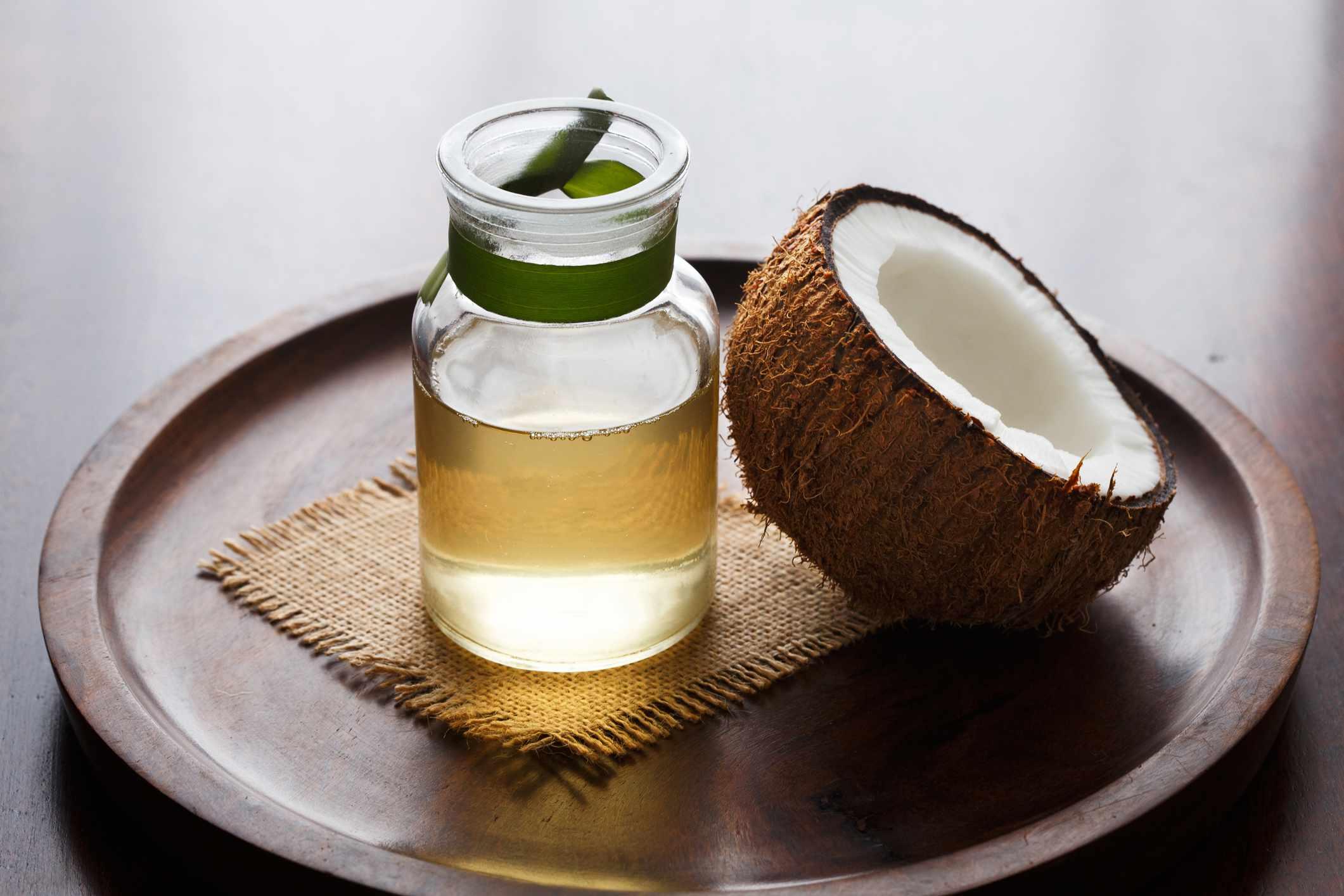 hair coconut oil