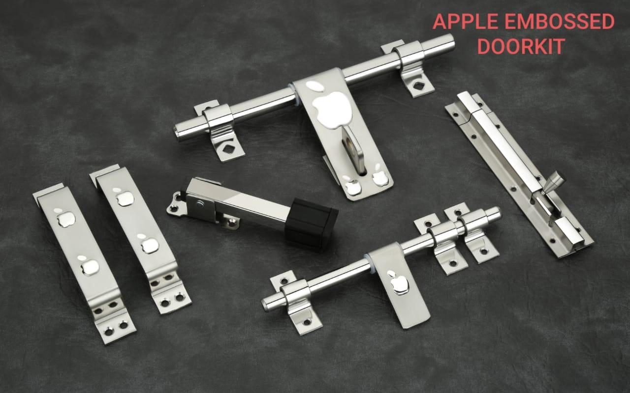 Apple Embossed Doorkit