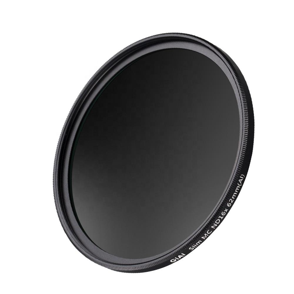 GiAi HD Camera ND filter 82mm DSLR camera ND1000 filter for camera lens