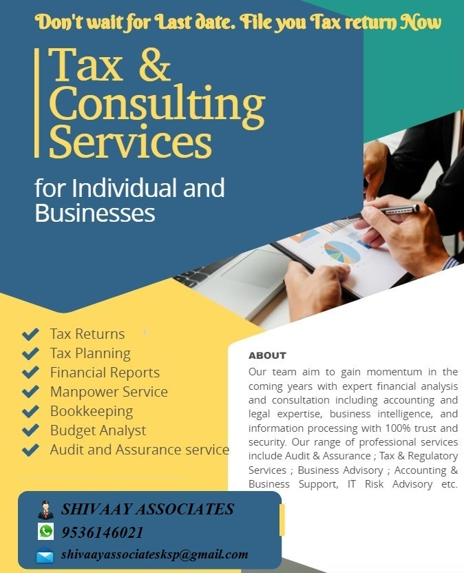 TAX & CONSULTING SERVICES