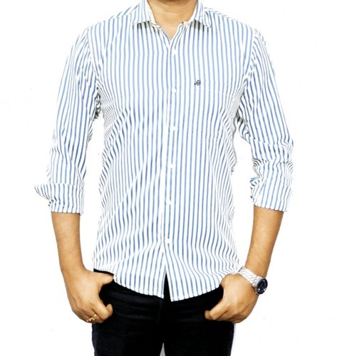 cotton blend casual shirts