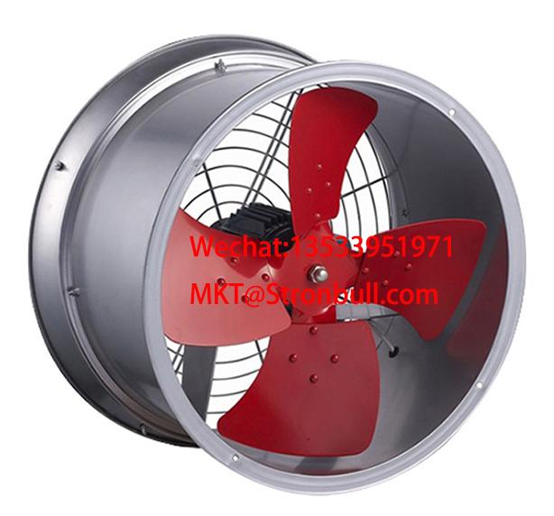 STRONBULL SFG industrial axial fan low noise wall-mounted duct fan